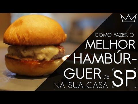 Aprenda a receita do melhor hambúrguer de SP