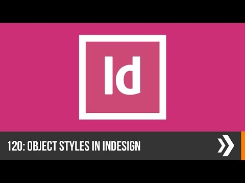 Creating Object Styles in InDesign | Everyday Office 010