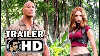 JUMANJI 2: WELCOME TO THE JUNGLE Trailer Announcement (2017) Dwayne Johnson Action Movie HD