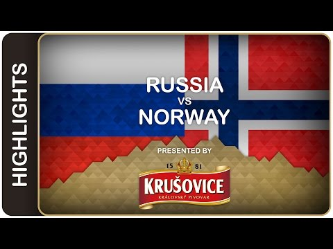 Russia sets the table | Russia-Norway HL | #IIHFWorlds 2016