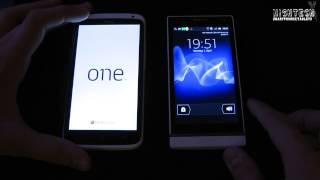 Boot-Test: HTC One X vs. Sony XPERIA S | HighTechX