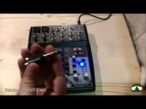 Review Vorstellung vom Behringer XENYX 802 Mischpult [deutsch FullHD]