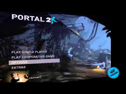 [How To] Play Portal 2 With PC USB or PS2 Controller Tutorial!