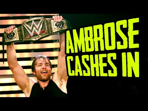 AMBROSE CASHES IN! WWE Money in the Bank 2016 Results (Going In Raw Wrestling Podcast Ep. 75)