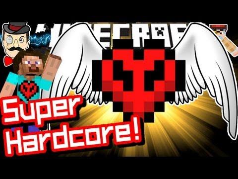 Minecraft SUPER HARDCORE Challenge Mod!