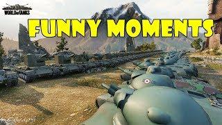 World of Tanks - Funny Moments   Week 2 January 2018