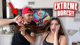 SPIN THE MYSTERY WHEEL DARE CHALLENGE!! (EXTREME)