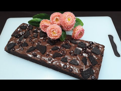 Cara Mudah Membuat Brownies Panggang Shiny dan Crust