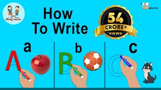 ABCD Alphabet | How to Write Alphabet |  ABCD | Alphabet for Kids