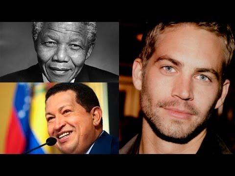 Personajes famosos que murieron en el 2013 // Artistas fallecidos // Famosos muertos