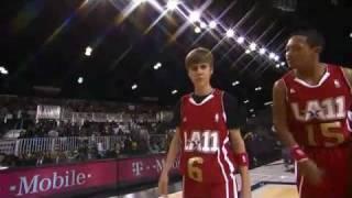 Video: Chứng kiến Justin Bieber trổ tài bóng rổ như dân chuyên nghiệp