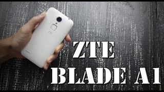 Zte Blade A1 обзор (распаковка) отличного смартфона за 100$ - unboxing- где купить?- отзывы