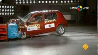 Latin NCAP 2013: Crash Test Renault Clio Mio
