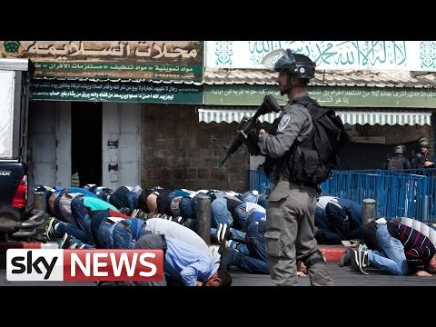 Violence In Jerusalem's Old City As Israeli Police Enter Al-Aqsa Mosque