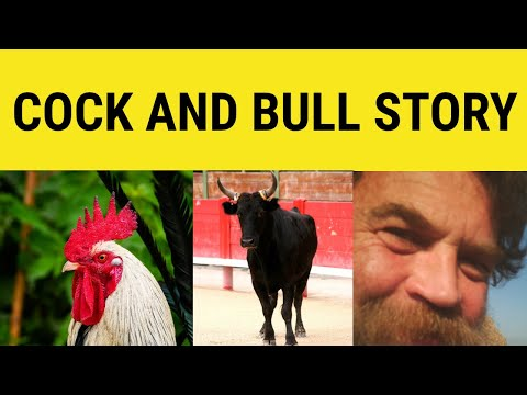 Header of A Cock and Bull Story
