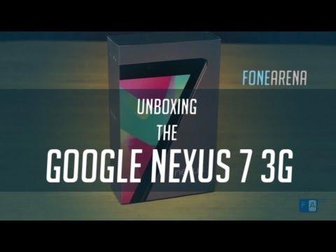 Nexus 7 3G Unboxing