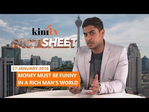 Fact Sheet - January 27: Money must be funny in a rich man's world