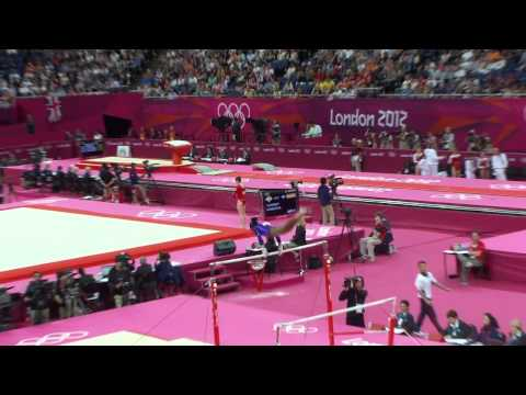 Gabby Douglas Olympics 2012 Qualification Uneven Bars UB