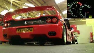Straight piped Ferrari F50 SOUND