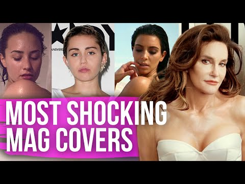 Most Shocking Magazine Covers of 2015 (Dirty Laundry)