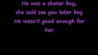 Avril Lavigne-Sk8erboy-with Lyrics
