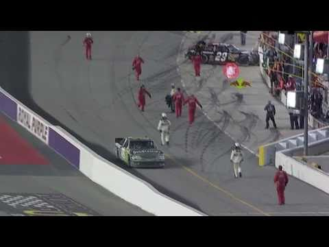NASCAR Darlington 2011- KEVIN HARVICK AND KYLE BUSCH FIGHT!!!!!!