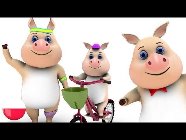 Ta Mała Świnka | Polskie piosenki dla dzieci | Kołysanki | Przedszkola piosenki | Rymy 3D