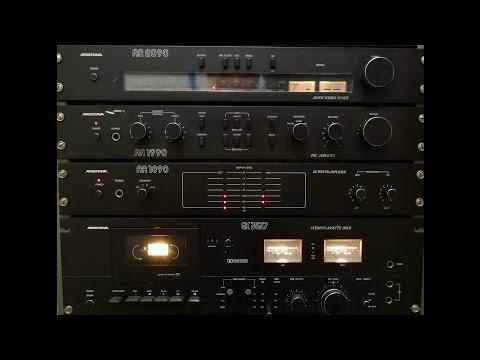 xxxxx rare Aristona MO90 19 inch audio rack review