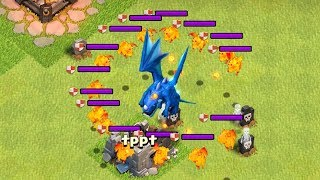 "YOU WONT BELIEVE WHAT HAPPENS!! ""Clash Of Clans"" LAVA VS LIGHTNING!!"