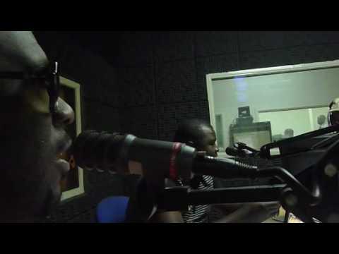 Interview @ radio Huila, Lubango, Angola. 08/09