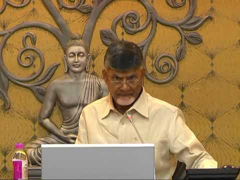 Chandrababu Polavaram Review Meeting in AP Secretariate   Bezawadamedia