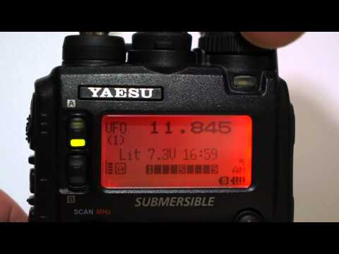 Yaesu VX-8R КВ АМ