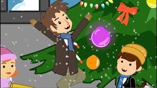 Um Conto de Natal | Historia Completa | Desenho animado infantil com Os Amiguinhos