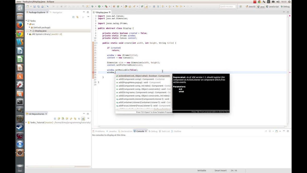 Java создание окна метод paint
