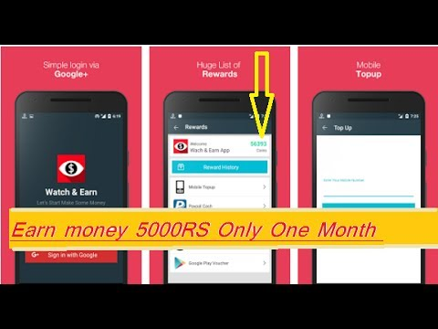 Earn money online 5000 ₹ per month, Best way to earn ,, Easy process (Hindi)