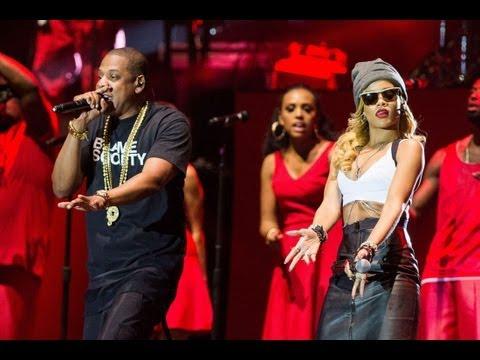 Jay-Z - Run This Town (feat. Rihanna) - Wireless Festival 2013