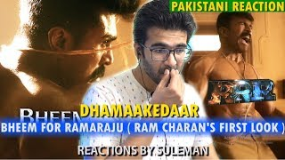 Pakistani Reacts To Bheem For Ramaraju - RRR | Ram Charan First Look