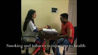 A short film on Anti-Tobacco and Oral Cancer awareness - Students at Manubhai Patel Dental College