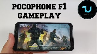 Pocophone F1 Call of Duty Mobile v1.0.3 Gameplay/New update/Snapdragon 845 Max graphics 60 FPS
