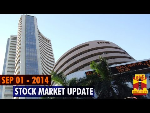 Stock Market Update - 1st September 2014 - Thanthi TV