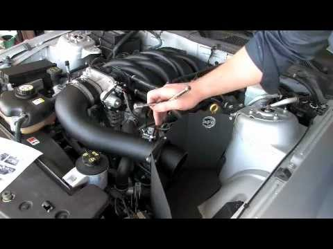 AFE Cold Air Intake Install (05-09 Mustang GT)