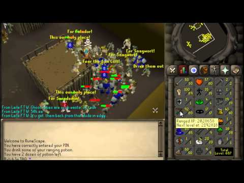 Expired [Old School RS]1 Defence & 1 Prayer | New* 99 Range Chinning Spot 250k p-h
