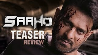 Saaho Teaser Review | #SaahoTeaser |  Prabhas, Sujeeth | UV Creations