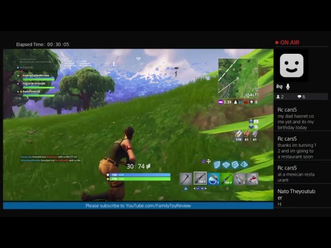 Fortnite 50vs50 WEDNESDAy Gameplay Live Broadcast Family Game Review