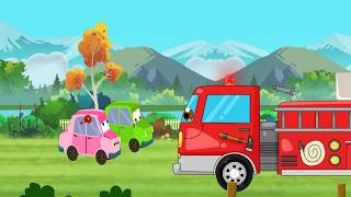 good and bad Fire Truck cartoon story for kids l construction vehicals video for children l Ep 19