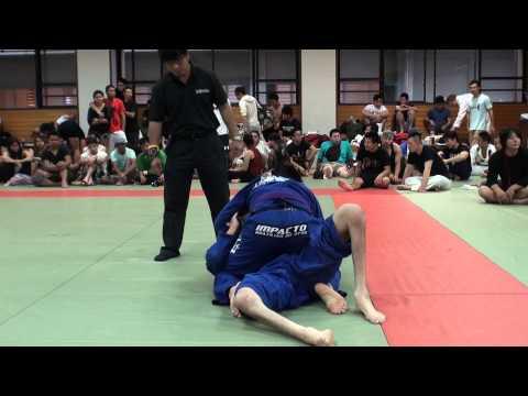 Maikano Tanaka vs 近藤大介 / Jiu Jitsu Priest CUP 2014 GIFU