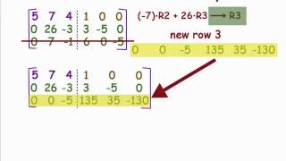 Calculate the Inverse of a Square Matrix: Part 2