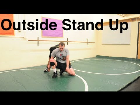 Stand Up Defense to Far Ankle (Ankle Post): Basic Wrestling Moves And Techniques For Beginners Image 1