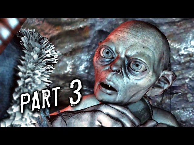 Middle Earth Shadow of Mordor Walkthrough Gameplay Part 3 - Gollum (PS4)