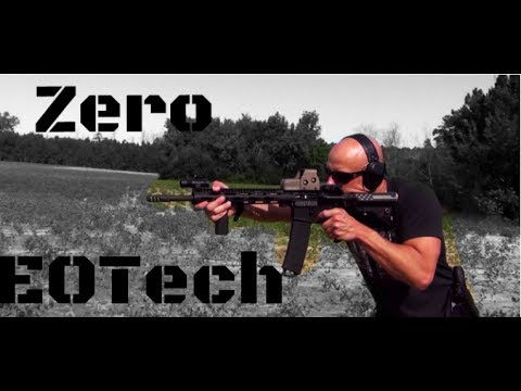 How To Zero An EOTech Holographic Sight (HD)